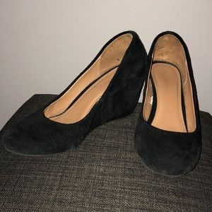 MERONA size 6 Suede Wedges